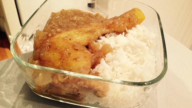 poulet au gingembre recette facile