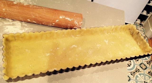 abaisse pâte sablée tarte citron pamplemousse