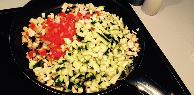 cuisson des legumes pour samoussas