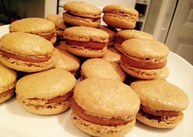 macarons caramel beurre salé faits maison