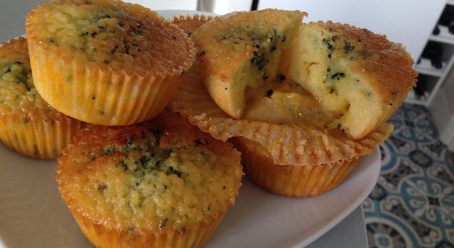 cupcakes citron lemon curd et spiruline
