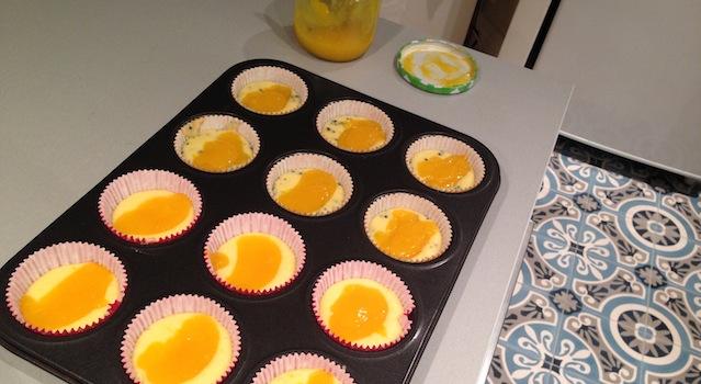 dressage des cupcakes et lemon curd