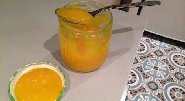 lemon curd maison prêt à consommer
