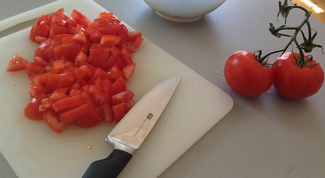 tomates du tabouleh libanais