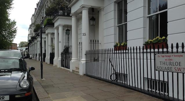 au détour d'une rue londonnienne
