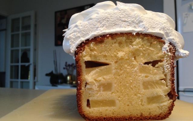 cake pinacolada apres découpe