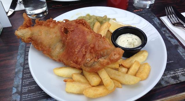 fish and chips borough market