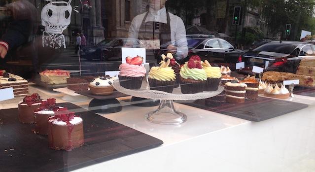 jolis cupcakes façon anglaise londres