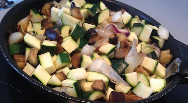 legumes pour crumble au poulet et parmesan