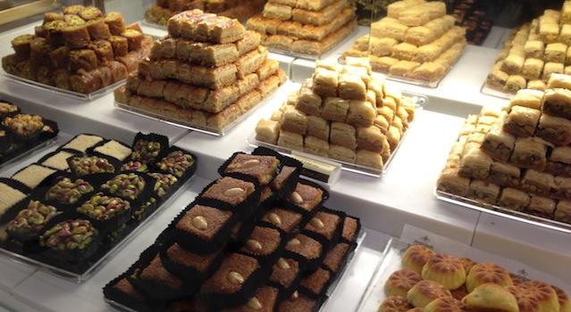 pâtisseries libanaises version luxe londres