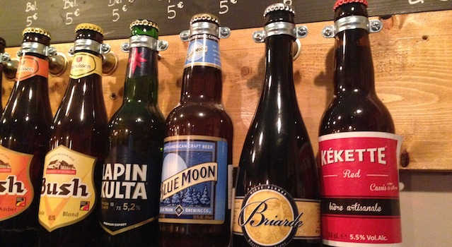 sélection de bières du monde entier chez PAL