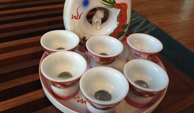 Tasses à saké érotiques