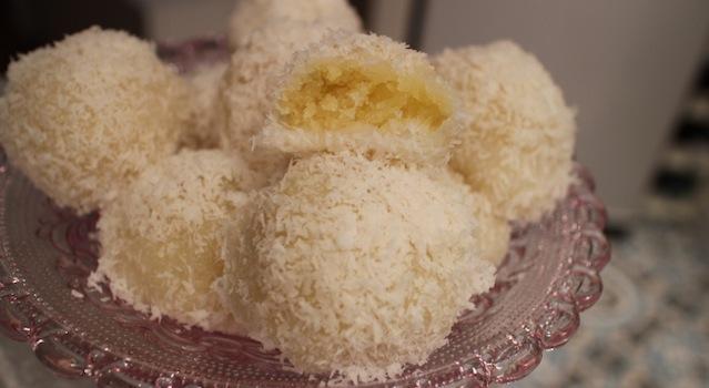 délicieuses perles de coco faites maison - perles de coco au rice cooker