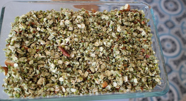 granola prêt à enfourner - Granola pistache naturel