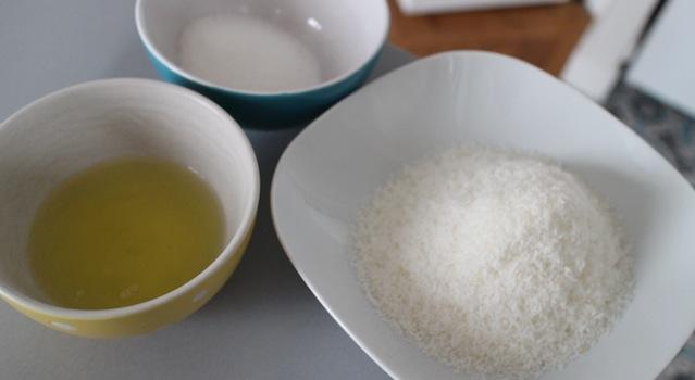ingrédients des rochers coco