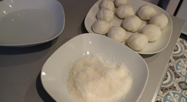 la mise en place des perles de coco - perles de coco au rice cooker