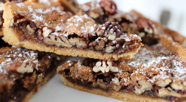 tarte aux noix de pecan craquante et croustillante - The American pecan pie - La véritable tarte aux noix de pecan