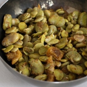 Recette de la Salade de fèves aux citrons confits