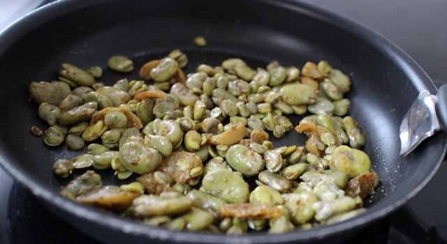 cuisson de la salade - Salade de fèves aux citrons confits