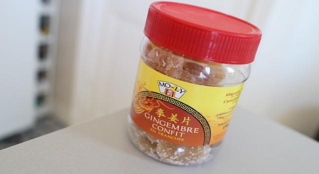 gingembre confit - Le guide ultime pour tout trouver dans les épiceries asiatiques