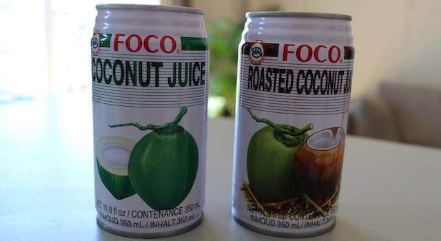 jus de noix de coco nature et toasté - Le guide ultime pour tout trouver dans les épiceries asiatiques