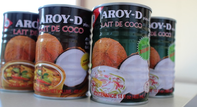 lait de coco cuisine et desserts - Le guide ultime pour tout trouver dans les épiceries asiatiques