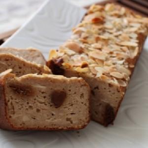 recette du Vegan cake tofu, figues, citron amandes
