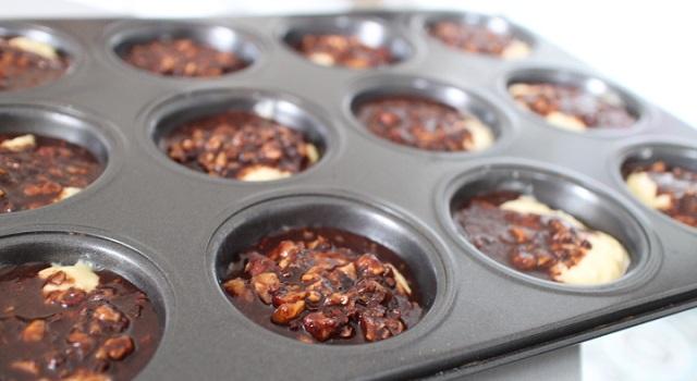 recouvrir de chocolat - cozonac cu nucă