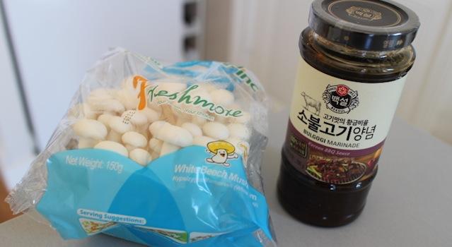 sauce bulgogi coréenne et champignons - Le guide ultime pour tout trouver dans les épiceries asiatiques