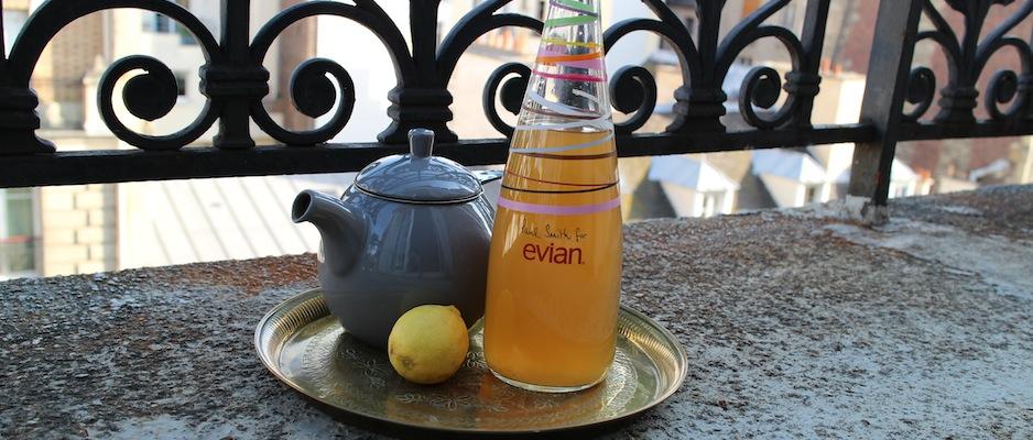 Thé glacé detox citron gingembre