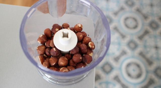 noisettes entières à hacher - Barres de céréales maison Coco-Choco-Noisettes