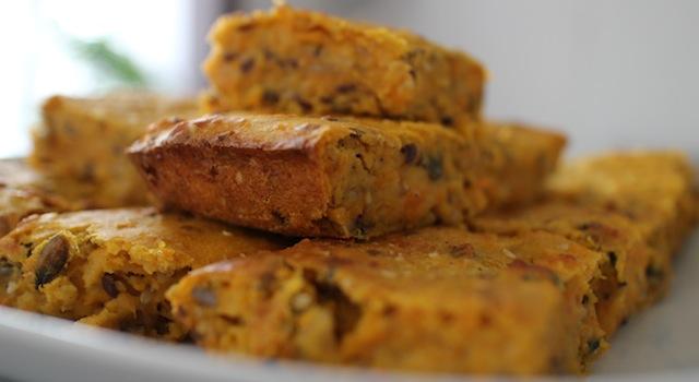 texture croquante et fondante - Gâteau moelleux et fondant de butternut