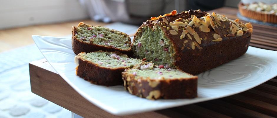 Cake grenade pistache