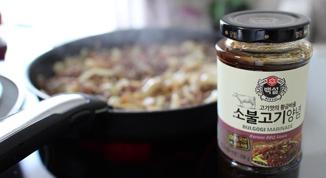 la sauce bulgogi indispensable - Un bibimbap fait maison