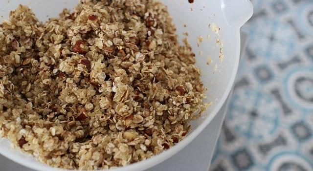 mélange apétissant - Céréales maison chocolat & noisettes