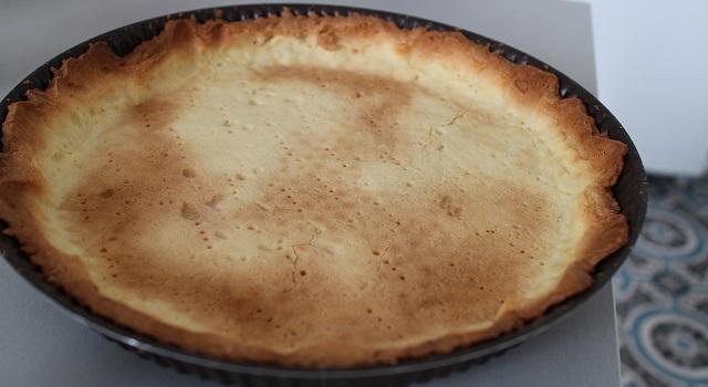 pâte sablée bien dorée et croustillante - Tarte aux figues, amandes et pistaches