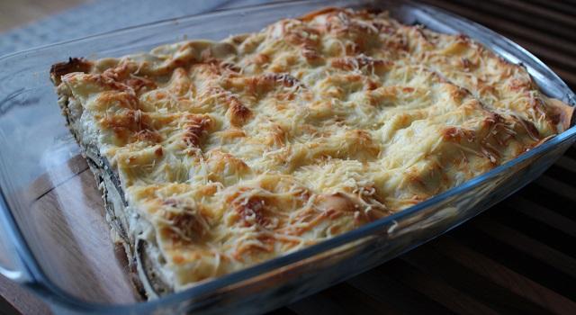 plat gourmand et familial - Lasagnes du soleil végétariennes