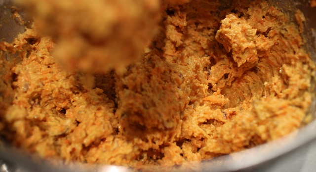 appareil épais et moelleux - Carrot Cake - Petit écureuil