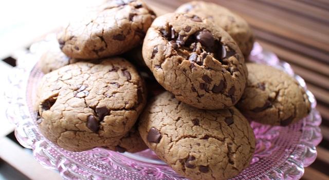 cookies gourmands aux pépites de chocolat - Extra soft cookies chocolat et praliné