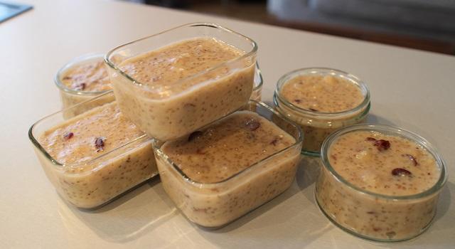 facile et petit déjeuner complet et gourmand - Healthy gâteau de soja aux super fruits