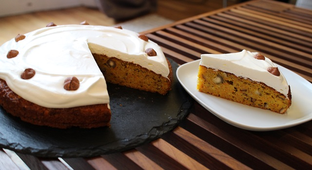 laisser prendre le glaçave avant de servir - Carrot Cake - Petit écureuil