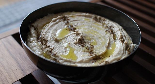 apéritif idéal et savoureux - Le vrai houmous - recette collector