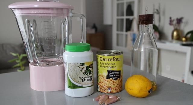 ingrédients Le vrai houmous - recette collector