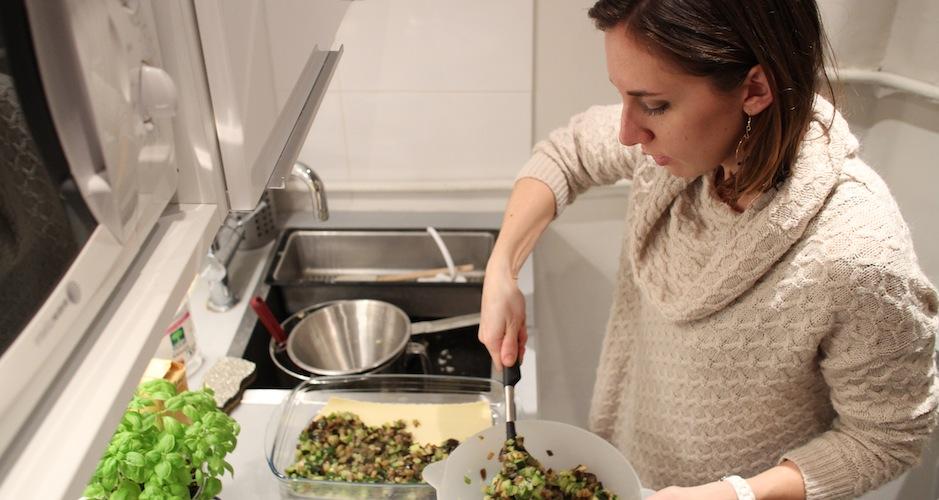 dressage des lasagnes maison - Le cours de cuisine selon My Beautiful Dinner
