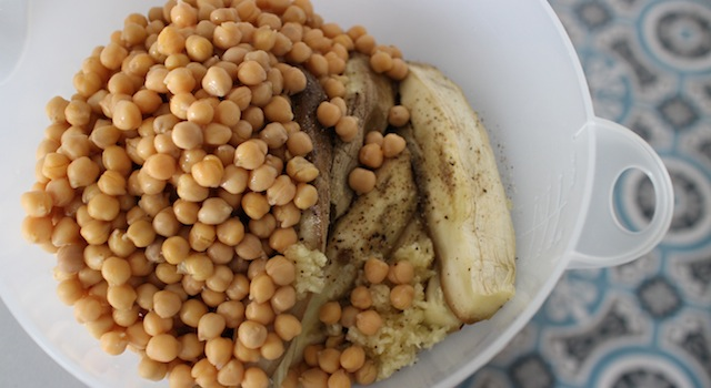 pois chiches et aubergine - Falafel light - l'ultime défi