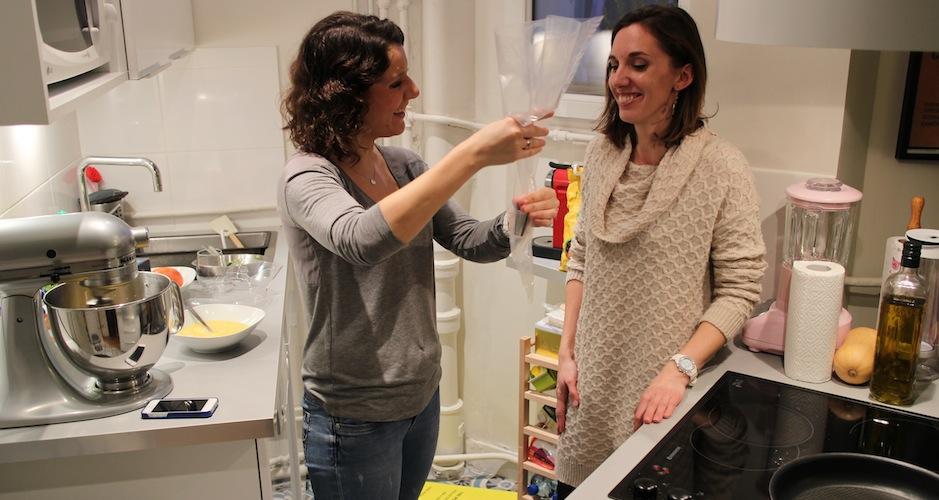 utilisation et maniement de la poche à douille - Le cours de cuisine selon My Beautiful Dinner