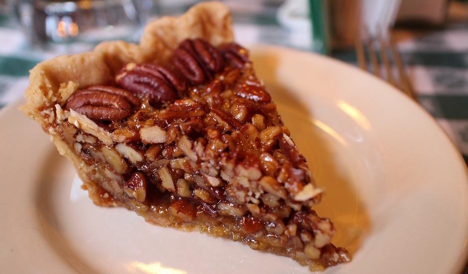 la tarte aux noix de pecan version xxl - Pont de Brooklyn Manhattan New-York Foodie - le voyage gastronomique