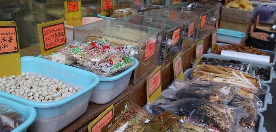 les produits chinois traditionnels - Pont de Brooklyn Manhattan New-York Foodie - le voyage gastronomique