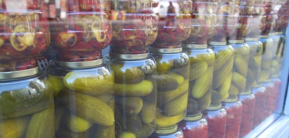 les vrais pickles - Pont de Brooklyn Manhattan New-York Foodie - le voyage gastronomique