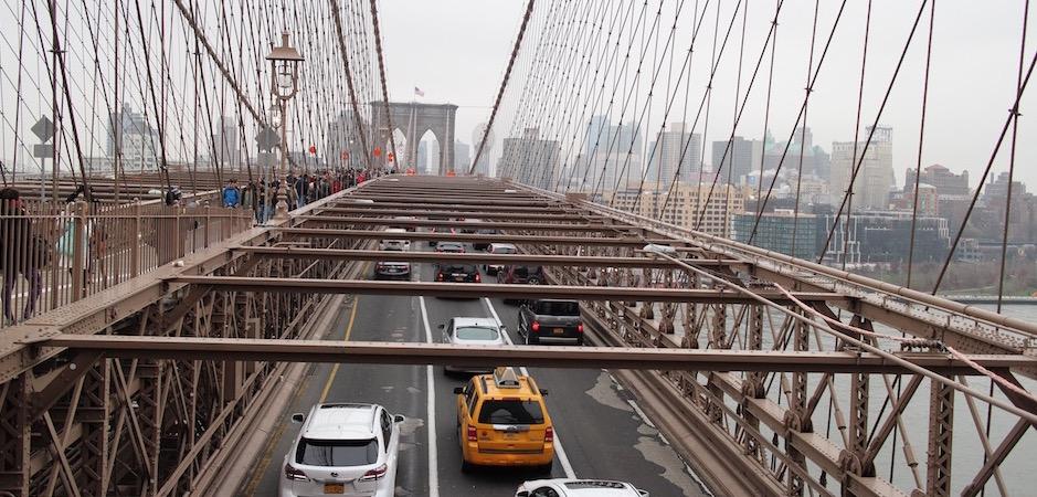 remonter le pont de brooklyn - Pont de Brooklyn Manhattan New-York Foodie - le voyage gastronomique